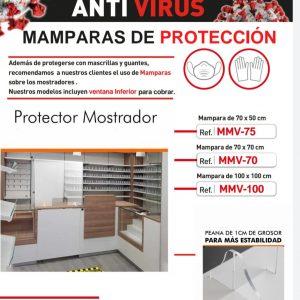 MAMPARAS DE PROTECCIÓN